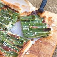 Torta salata di piattoni cinicamente mangiata per voi!