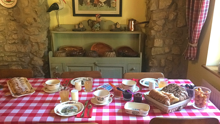 la belle salle de petit-déjeuner