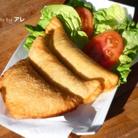 Panzerotti fritti, pizzelle fritte, Alessie fritte!