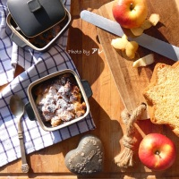Crumble di pandoro e mele al brandy, e si salvi chi può! (2 parte)