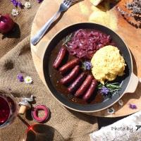 Salsiccia al vino rosso, il dono in un pacco per un compleanno bislacco!