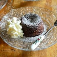 Tortino di cioccolato fondente il segreto è nel cuore...a palla!