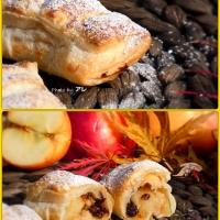 Fagottini alle mele e nocciole e l'autunno si tinge di dolce