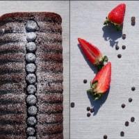 Plumcake al cioccolato mirtilli e fragole, una lacrima che viene dal cuore