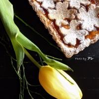 Crostata primavera, fiorellini ovunque!